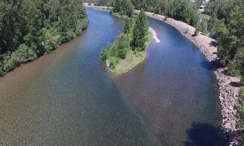 river-drone